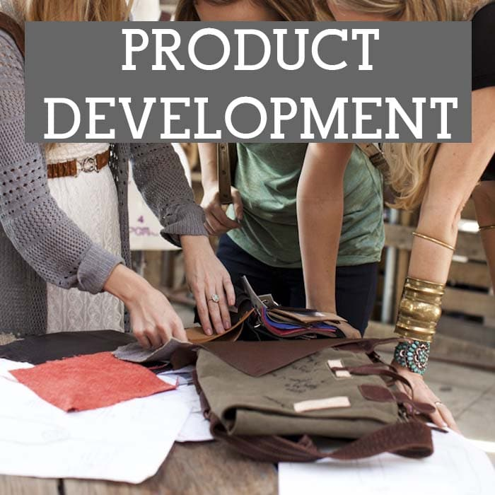 Fashion marketing and product development vibe consulting for Product development consulting