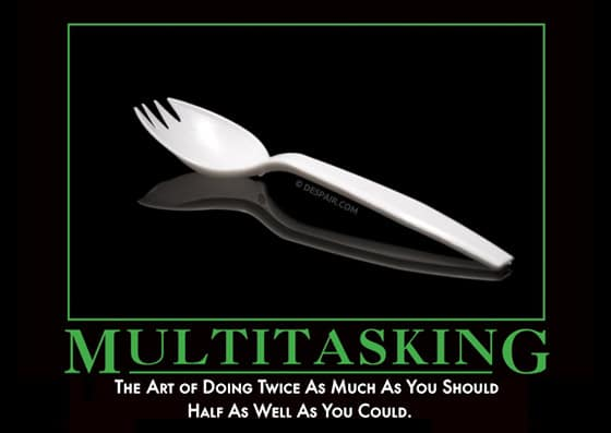 the fallacy of multi-tasking - vibe consulting