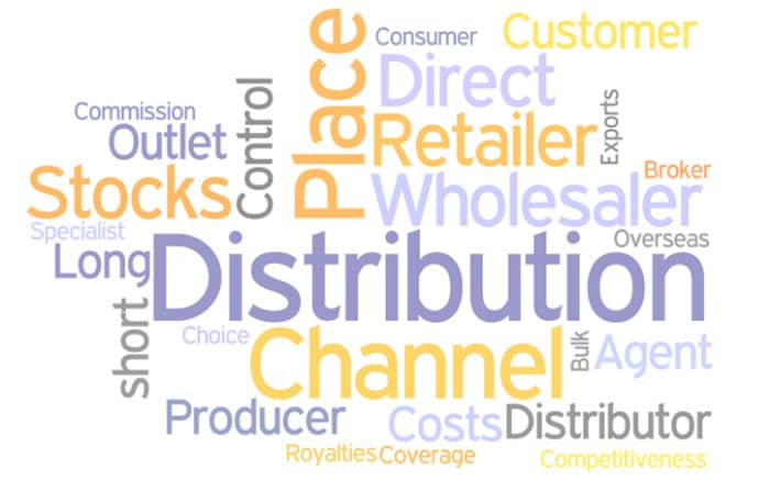 the marketing mix distribution channels In marketing, a distribution channel is a vehicle used by the company to sell its products and services to it customer base in general, distribution channels are either direct, meaning the company interacts with customers directly, or indirect, meaning intermediaries perform activities on behalf of the company to reach customers.